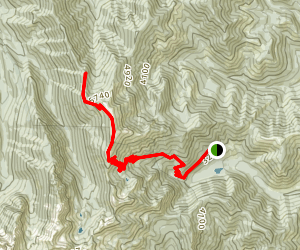 Mount Townsend Trail Map