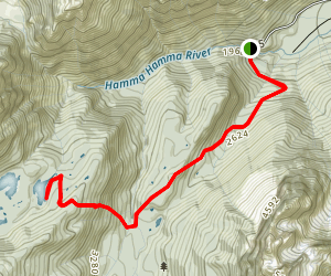 Mildred Lakes Trail Map