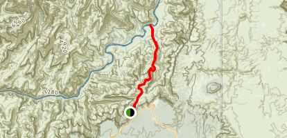 Tanner Trail Map