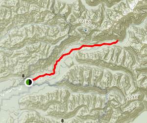 Queets River Trail Map
