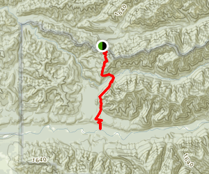 Rugged Ridge to Indian Pass Trail Map