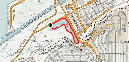 Ballona Wetlands  Map