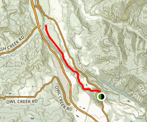 Rio Grande Trail West Map