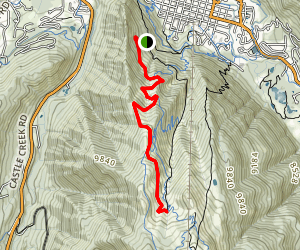 Summer Road Trail Map