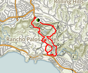 Klondike and Portuguese Canyon Trails Map