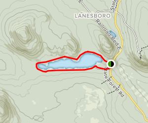Kettle Pond Trail Map