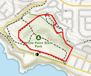 White Point Trail Map