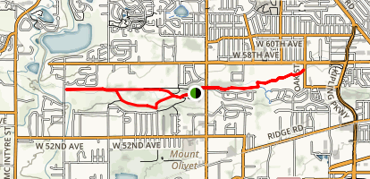 Van Bibber Park Trail Map