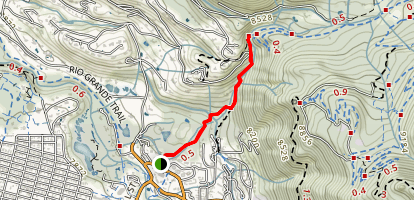 Lower Hunter Creek Trail Map