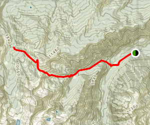 West Snowmass Trail Map