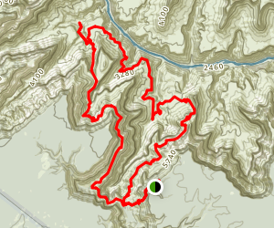 Boucher Trail to Hermit Trail Loop Map
