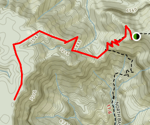 Powell Plateau Trail Map