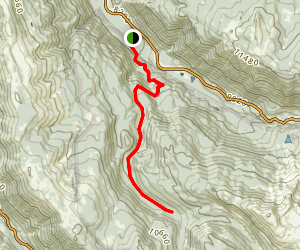 Difficult Creek Trail Map