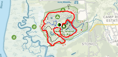 James Island County Park Trail Map