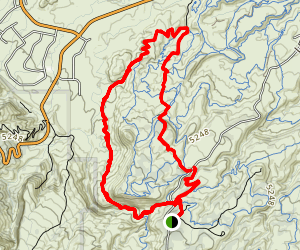 Andy's Loop Trail Map