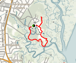 Charles Towne Landing State Historic Site Trail Map