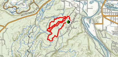 Holy Bucket Miramonte Rim Loop Trail Map