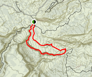 Rough Canyon Trail Map