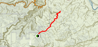 The Ribbon Trail Map