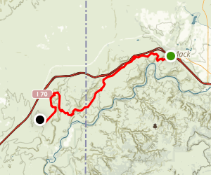 Kokopelli Trail / Troy Built Trail Map