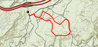 Rabbit Valley Trails 4 and 5 Map