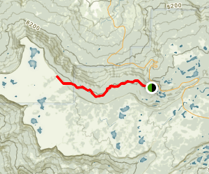 West Bench Trail Map