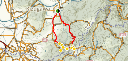 Kizugawa Buddhist Walking Tour Map