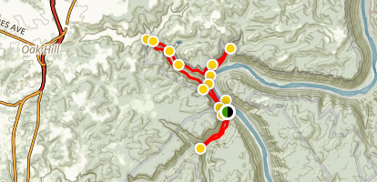 Rend Trail [CLOSED] Map