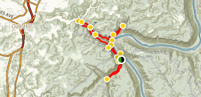 Rend Trail Map