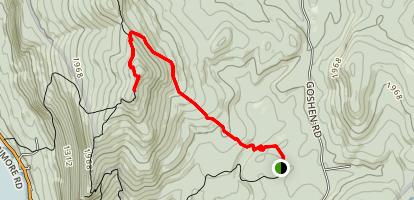 Mount Moosalamoo Trail  Map