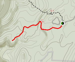 North Branch Trail to Voter's Brook Overlook Map