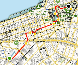 Boston with Kids Map