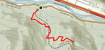 Duxbury Window Trail Map