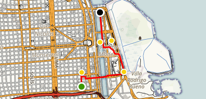 Old and New Buenos Aires Map