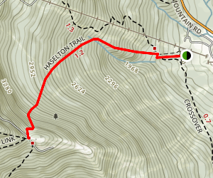 Haselton Trail Map