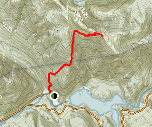 Sourdough Mountain Trail Map