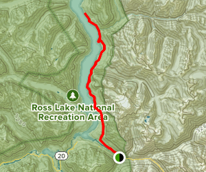 East Bank Trail Map
