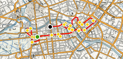 Mitte Walking Tour Map