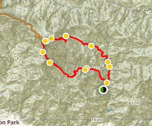 Mount Wilson via Chantry Flats Map