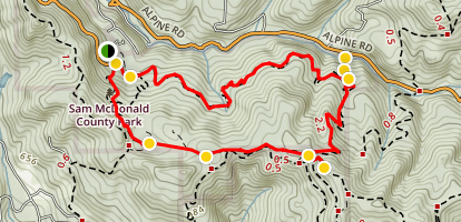 Heritage Grove Loop Trail Map