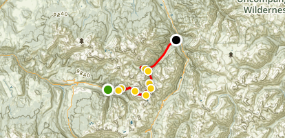 Imogene Pass Map