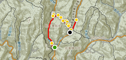 Kurama Trail Map