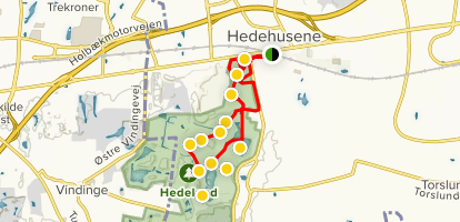 Hedeland Bike Route Map