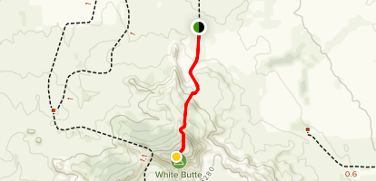 White Butte North Dakota's Highpoint Trail [PRIVATE PROPERTY] Map