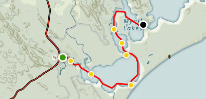 Nerong to Violet Hill Map