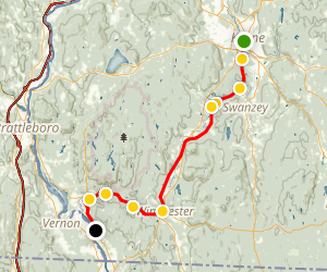 Ashuelot Rail Trail Map