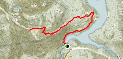 Pierce Mountain Way Trail Map