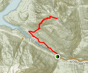 Jack's Mountain Trail Map