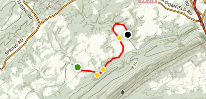 Shermans Creek Water Trail Map