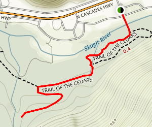 Rock Shelter Trail Map